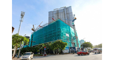 SITE CONSTRUCTION CAMERA FOR SAIGON ROYAL  - QUẬN 4